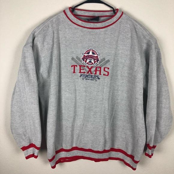 cheaper 9d023 5966e Vintage 1998 MLB Texas Rangers Pullover Sweatshirt